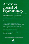 American Journal of Psychotherapy nr. 1/2008 - Autori multipli