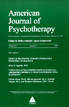 American Journal of Psychotherapy nr. 2/2008 - Autori multipli