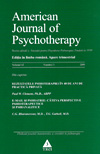 American Journal of Psychotherapy nr. 3/2008 - Autori multipli