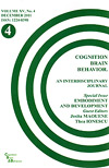 Cognition, Brain, Behavior. An Interdisciplinary Journal (December 2011) - Autori multipli