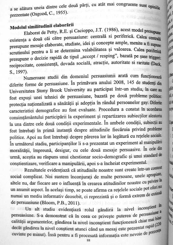 Studii aplicative in domeniul psihologiei sociale - Laurentiu Mitrofan
