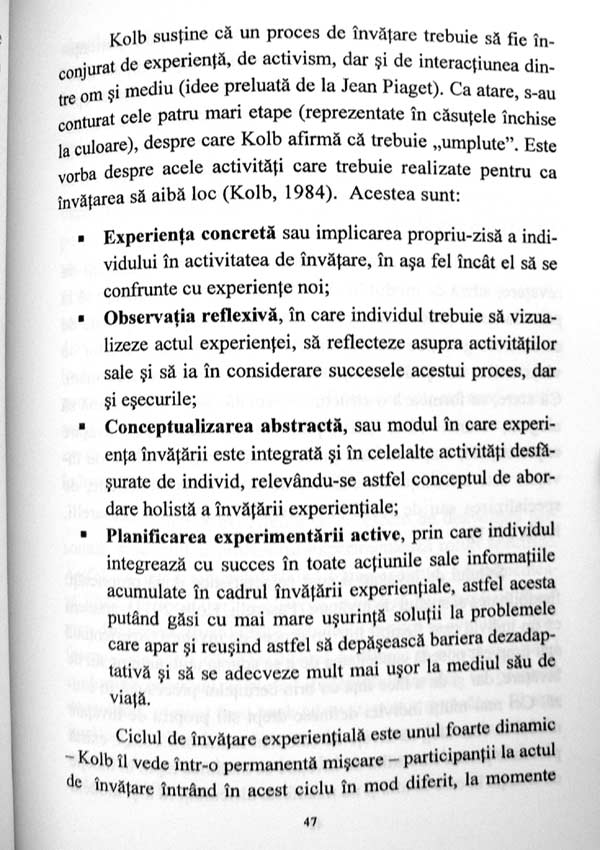 Invatarea experientiala prin dramaterapie - Iolanda Mitrofan