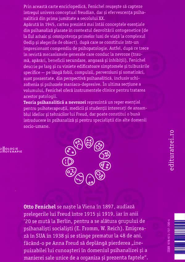 Teoria psihanalitica a nevrozei - Otto Fenichel
