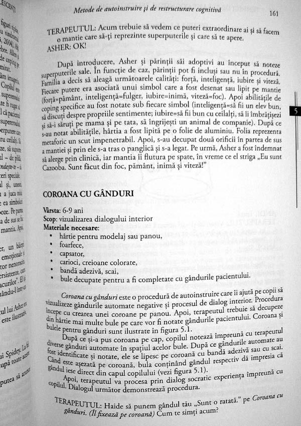 Tehnici de terapie cognitiva pentru copii si adolescenti - Robert D. Friedberg