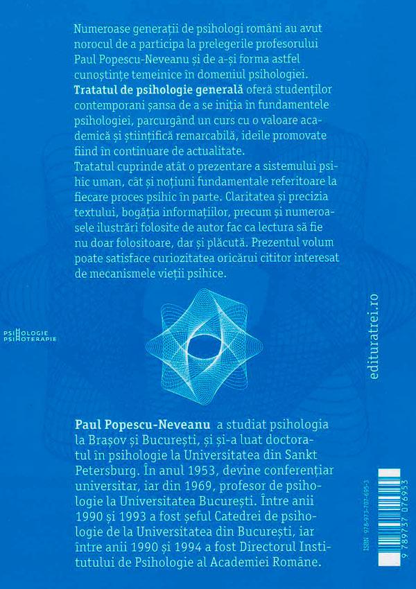 Tratat de psihologie generala - Paul Popescu-Neveanu