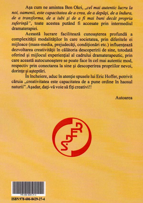 Dramaterapia: Amfiteatrul Eului Creativ - Alexandra Elena Mirica