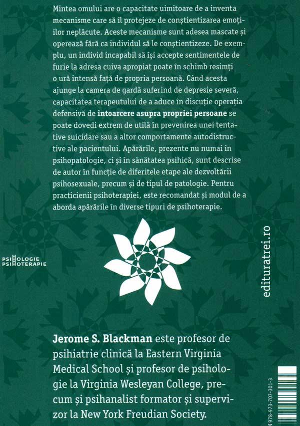 101 aparari. Cum se autoprotejeaza mintea - Jerome S. Blackman