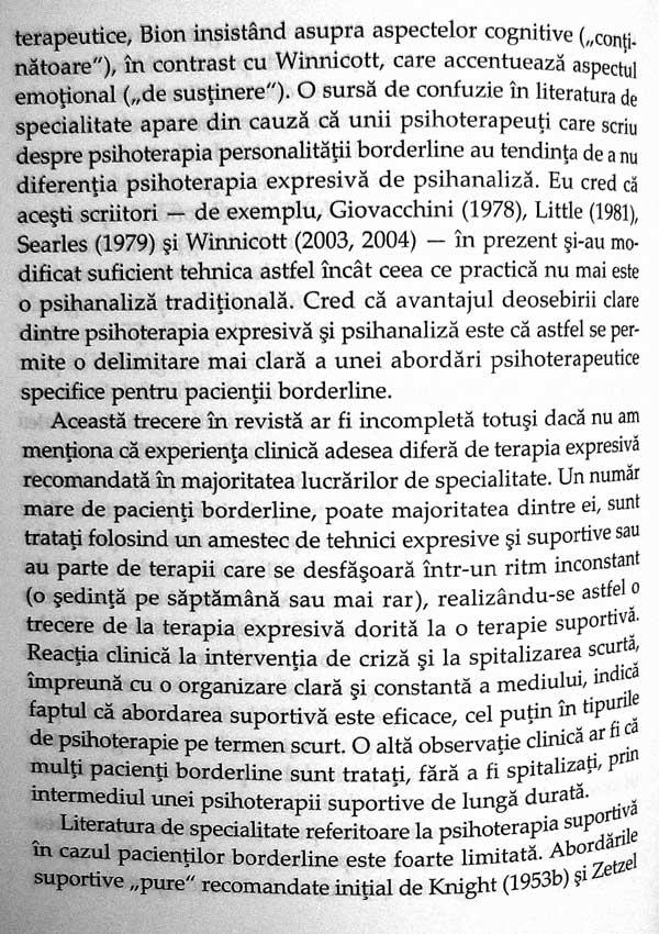Tulburari grave ale personalitatii. Strategii psihoterapeutice - Otto F. Kernberg