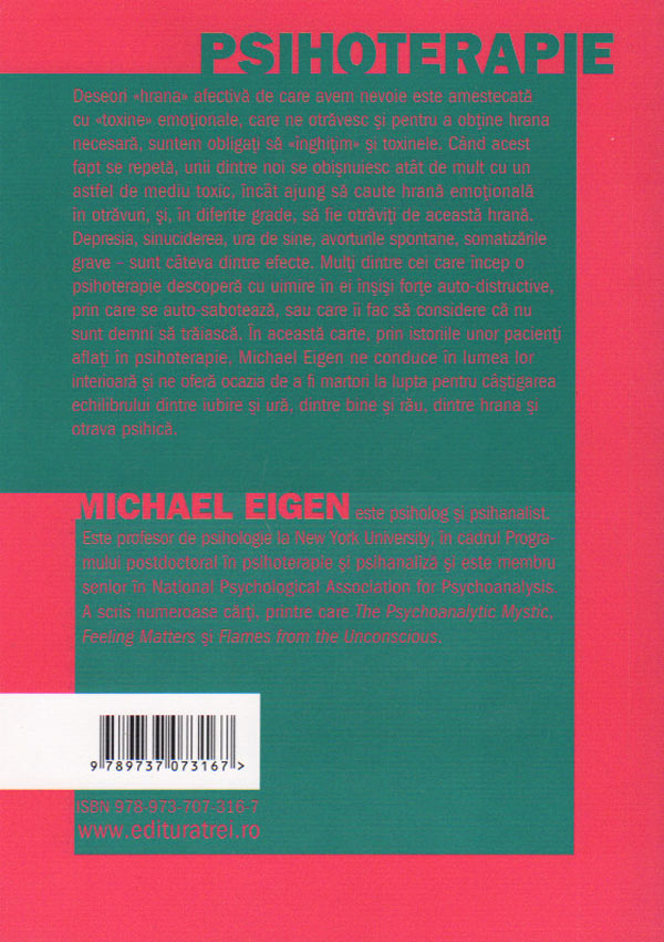 Hrana care otraveste - Michael Eigen
