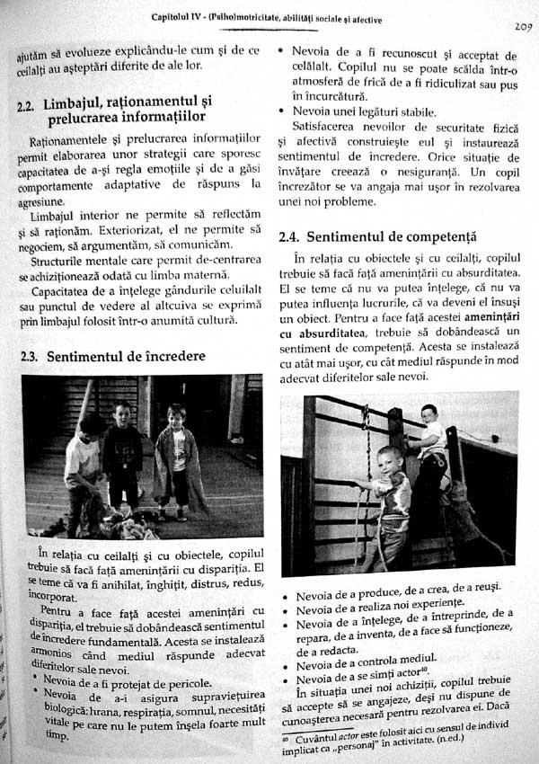 Psihomotricitate. Sprijin, preventie si compensare - Frederique Wauters-Krings
