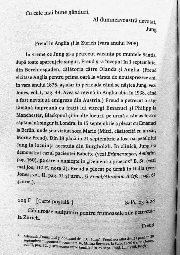 Corespondenta Freud - Jung  - Sigmund Freud