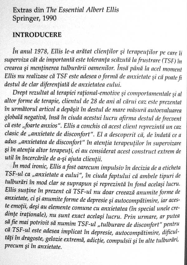 Evolutia unei revolutii. Bazele psihoterapiei rational-emotive - Albert Ellis