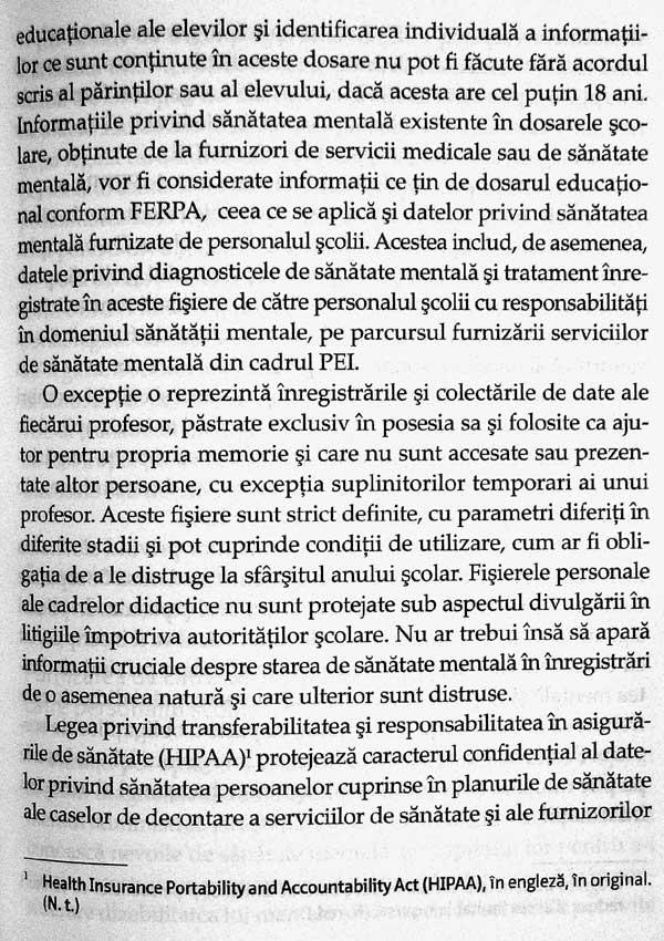 Sanatatea mentala a elevului - William Dikel