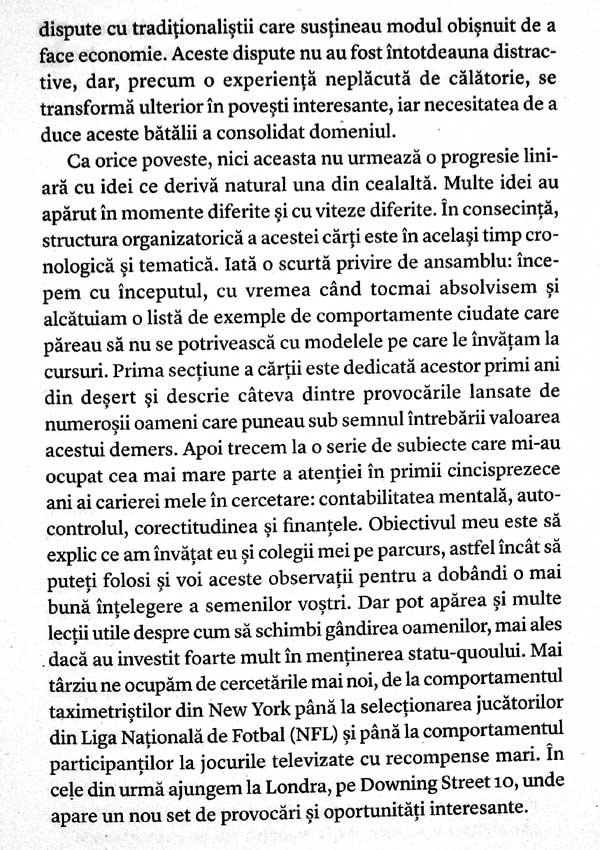 Comportament inadecvat. Nasterea economiei comportamentale - Richard H. Thaler