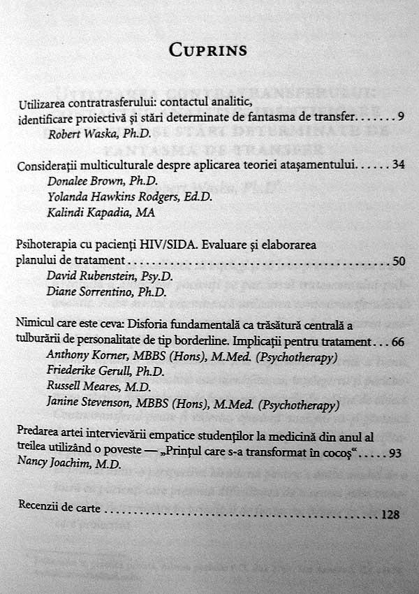 American Journal of Psychotherapy nr. 4/2008 - Autori multipli