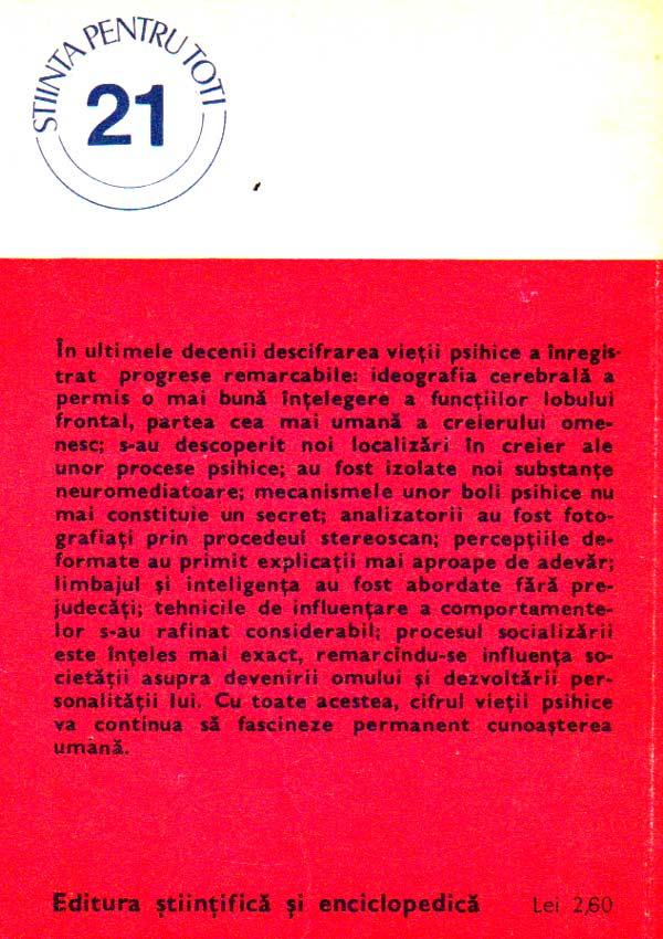 Cifrul vietii psihice - Septimiu Chelcea
