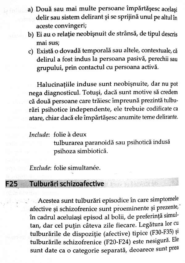 ICD-10 - Clasificarea tulburarilor mentale si de comportament. Descrieri clinice si indreptare diagnostice - Autori multipli