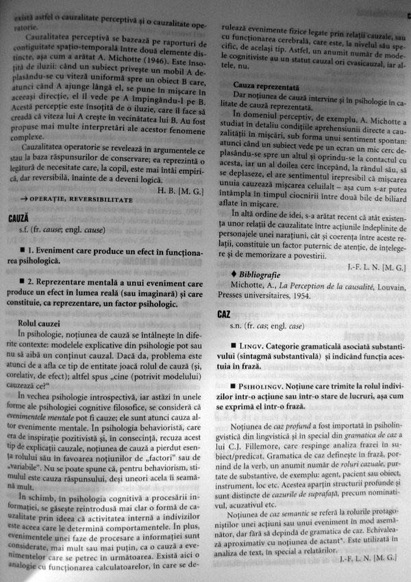 Marele dictionar al psihologiei, Larousse - Autori multipli