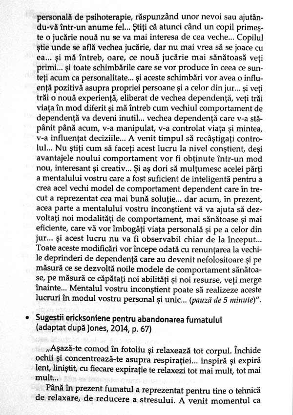 Hipnoza in psihoterapie - Irina Holdevici