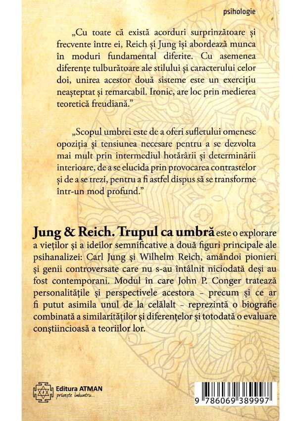 Jung&Reich. Trupul ca umbra - John P. Conger