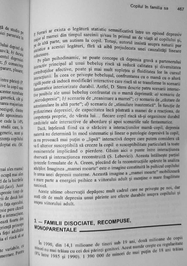 Tratat de psihopatologia copilului - Daniel Marcelli