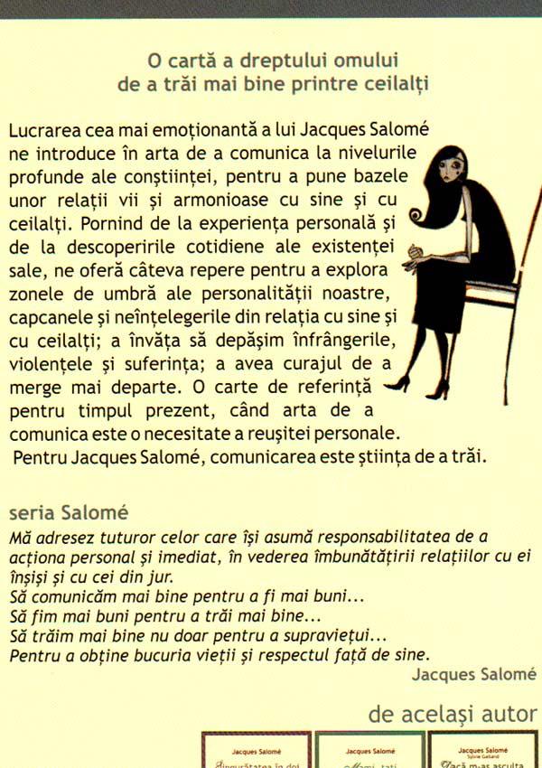 Curajul de a fi tu insuti - Jacques Salome