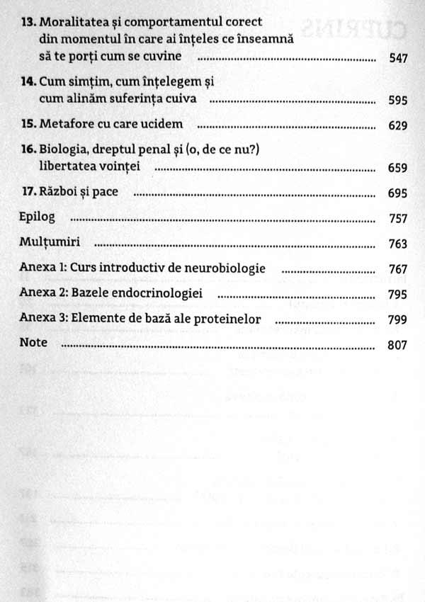 Behave. Biologia fiintelor umane in ipostazele lor cele mai bune si cele mai rele - Robert M. Sapolsky