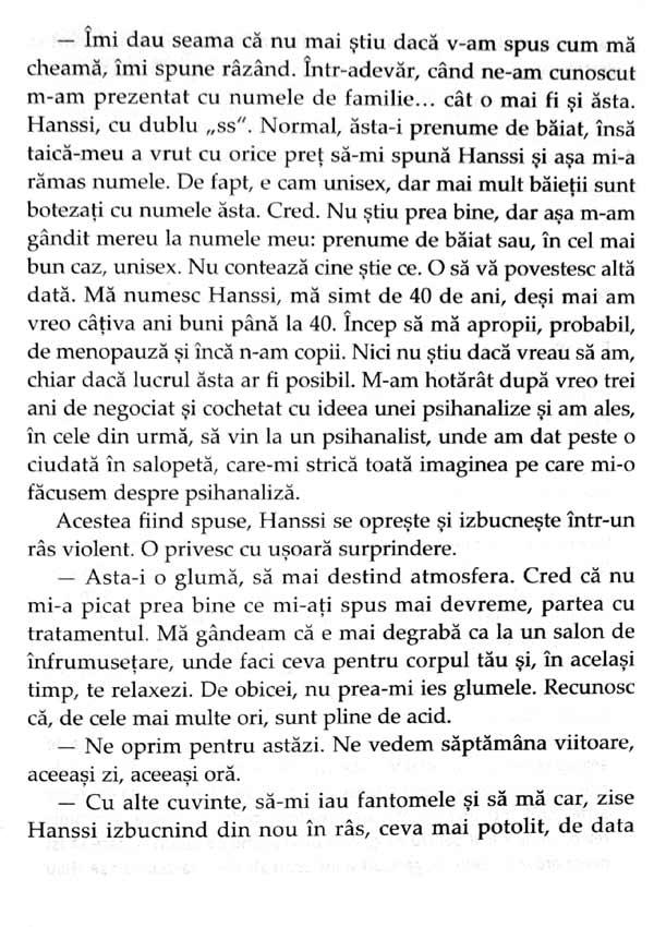 Hanssi. Pasaport pentru viata. O psihanaliza despre separare si travaliul de doliu - Stefania Dumitrescu