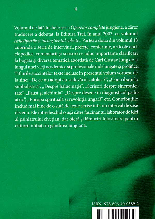 Viata simbolica. Opere (vo. 18/2) - Carl Gustav Jung