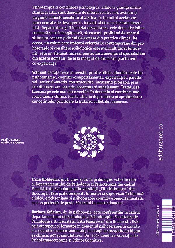 Orientari contemporane in psihoterapie si consiliere psihologica - Irina Holdevici