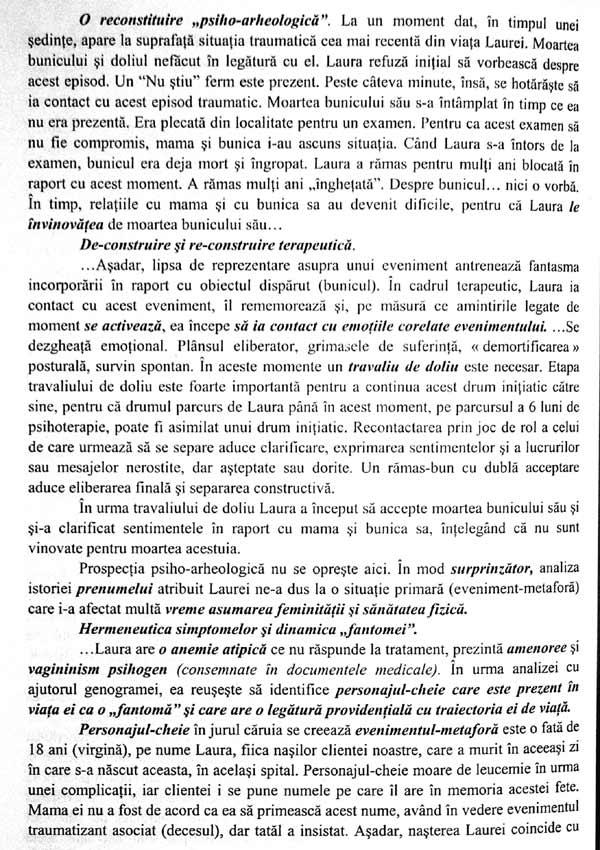 Analiza transgenerationala in terapia unificarii: o noua abordare experientiala a familiei (Vol. 2 - Integrarea radacinilor sau dulapul cu haine vechi) - Iolanda Mitrofan