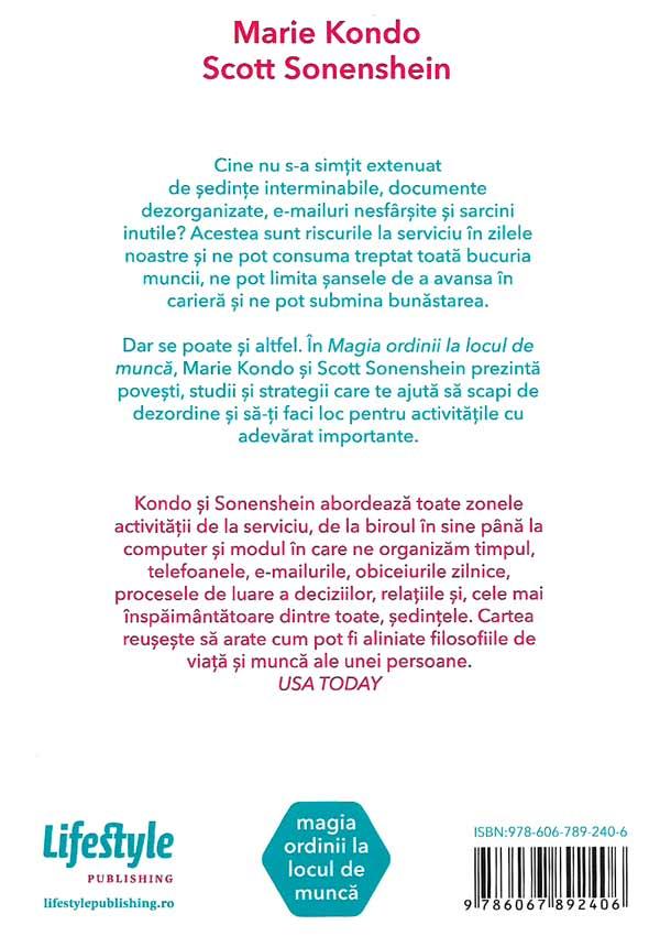 Magia ordinii la locul de munca - Marie Kondo