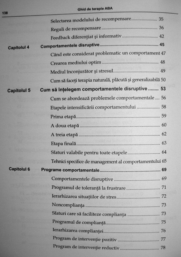 Ghid de terapie ABA. Partea I: Strategii de modificare a comportamentului copiilor autisti - Ronald Leaf