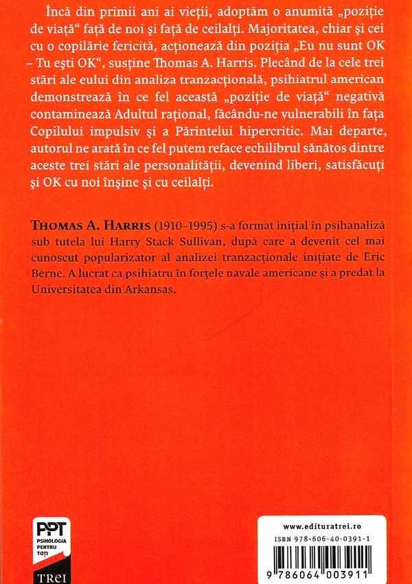 Eu sunt OK – Tu esti OK - Thomas A. Harris