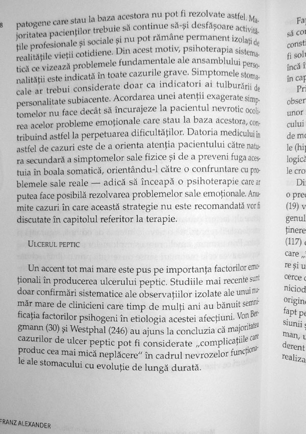 Medicina psihosomatica - Franz Alexander