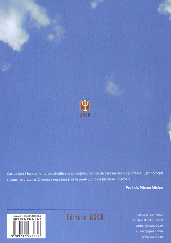 Psihologie educationala (doua volume) - Viorel Mih