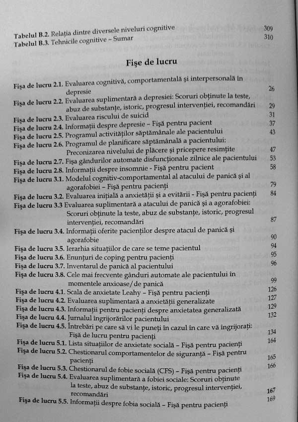 Planuri de tratament si interventii pentru depresie si anxietate - Robert A. Leahy