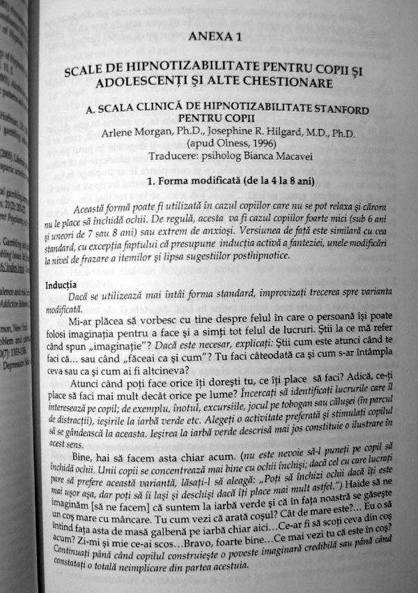 Introducere in hipnoterapia si in psihoterapia cognitiv-comportamentala a copilului si a adolescentului - Viorel Lupu