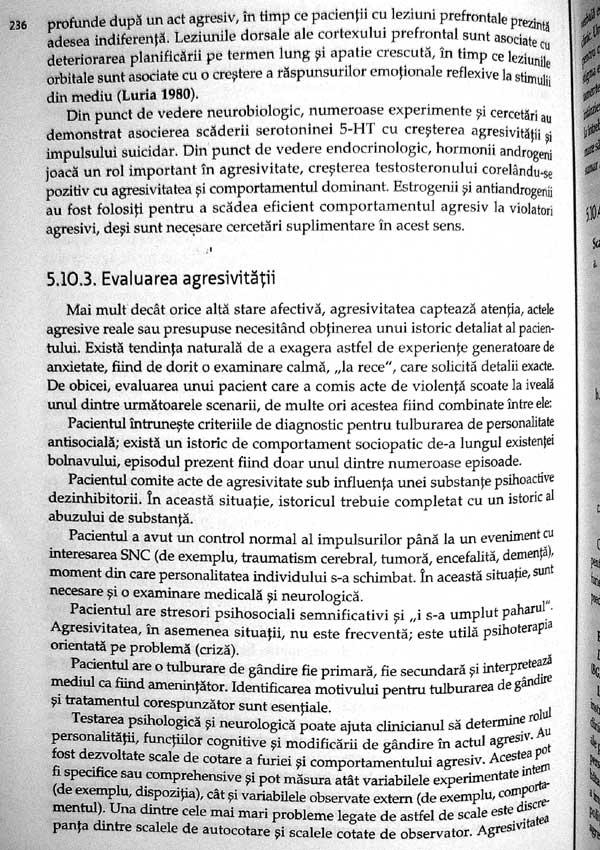 Tratat de psihopatologie si psihiatrie pentru psihologi - Florin Tudose