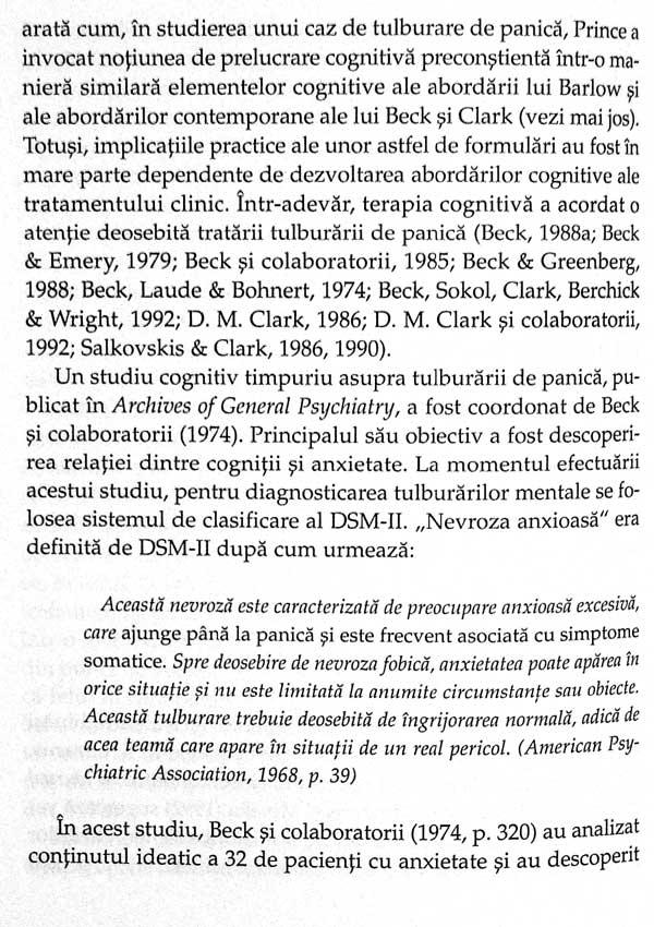 Puterea integratoare a psihoterapiei cognitive - Aaron T. Beck