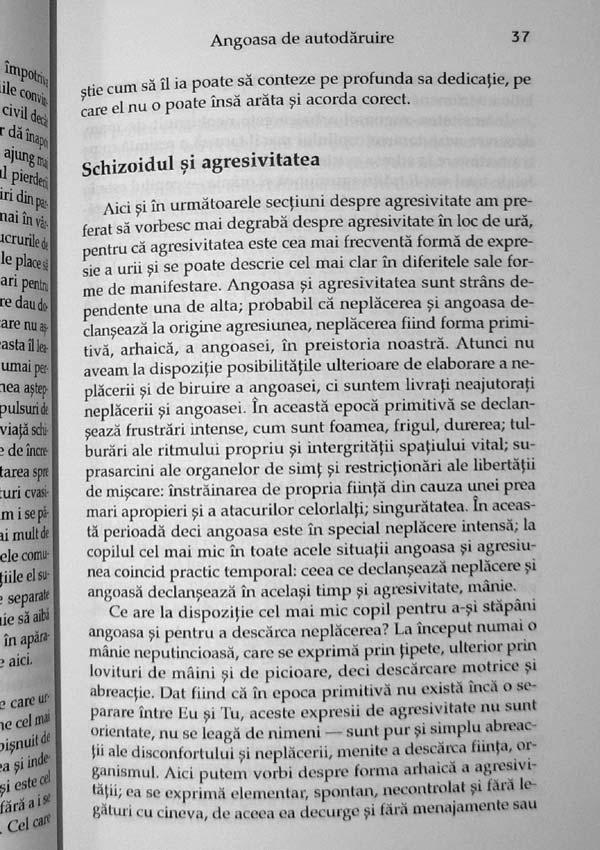 Formele fundamentale ale angoasei. Studiu de psihologie abisala - Fritz Riemann