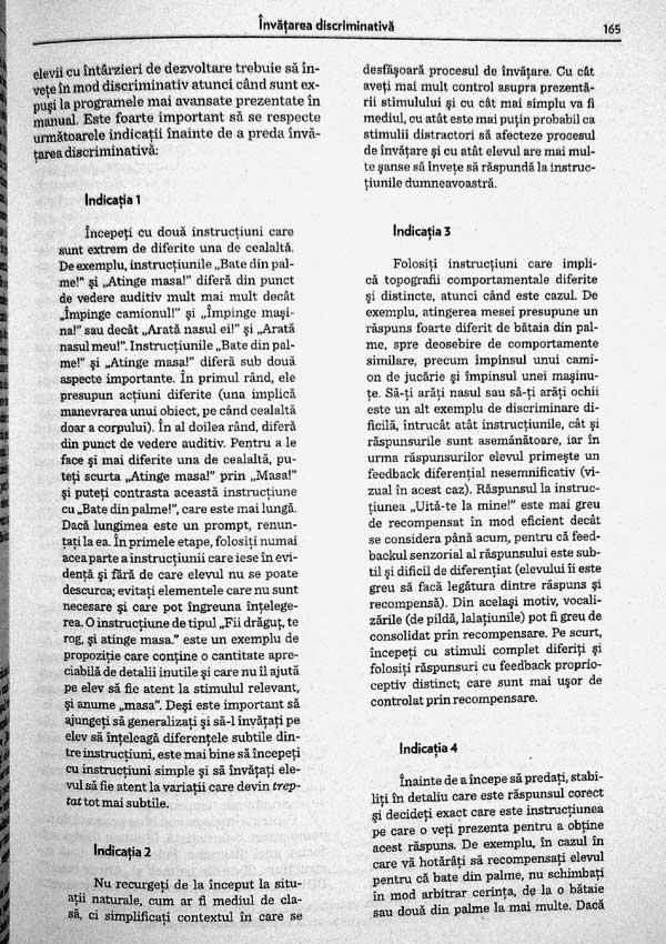 Educarea persoanelor cu intarzieri de dezvoltare. Tehnici de baza ale interventiei comportamentale - O. Ivar Lovaas