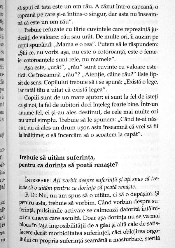 Ce sa le spunem copiilor – cand sunt foarte mici, cand sunt tristi, cand sunt bolnavi, cand se bucura - Francoise Dolto