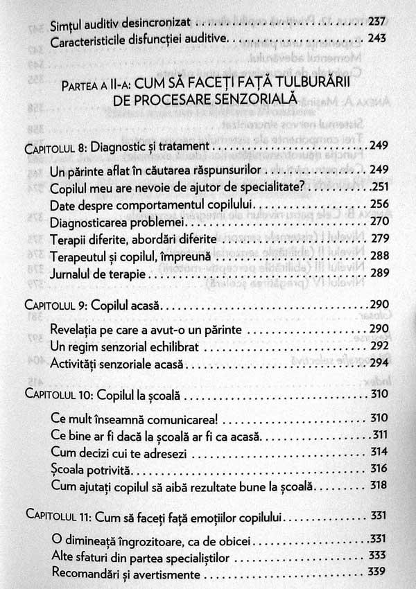 Copilul desincronizat senzorial - Carol Stock Kranowitz