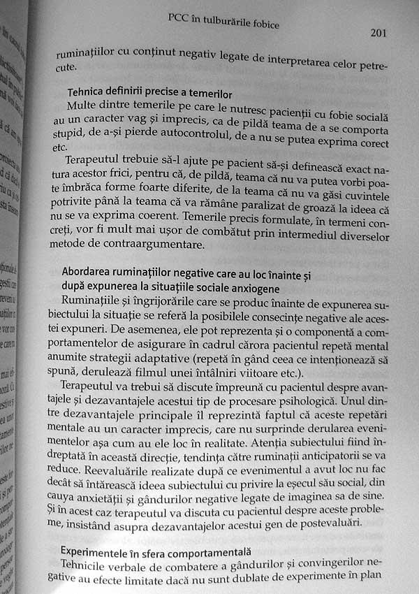 Tratat de psihoterapie cognitiv-comportamentala - Irina Holdevici