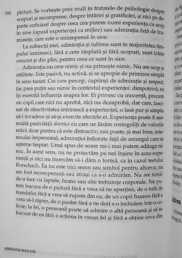 Motivatie si personalitate - Abraham H. Maslow